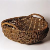 Shallow Basket with Handles by Alison Fitzgerald