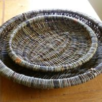 Two Nested Baskets by Alison Fitzgerald