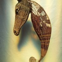 Basket Sea Horse by Beth Murphy