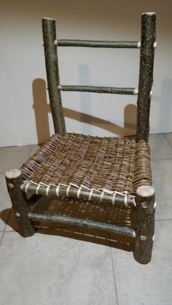 Basket chair by Paul Finch