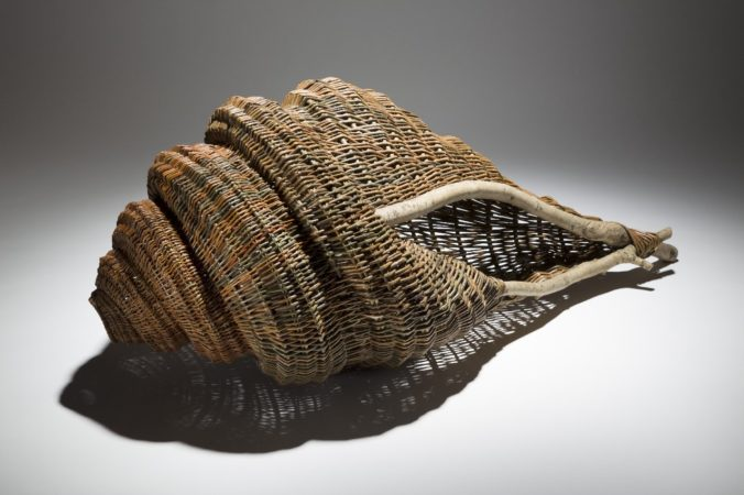 Shell basket by Paul Finch